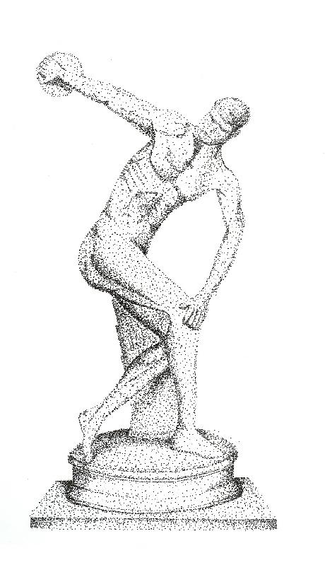 Stippling Sketch